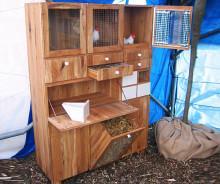 Chicken coop open