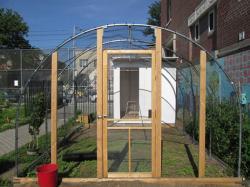Edible schoolyard nyc chicken coop